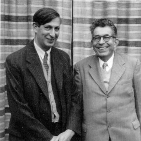 Fritz London y Walter Heitler