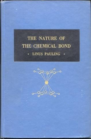 Pauling publica La naturaleza del enlace químico, una obra compilatoria de investigaciones hechas décadas atrás en el rubro de los enlaces químicos.