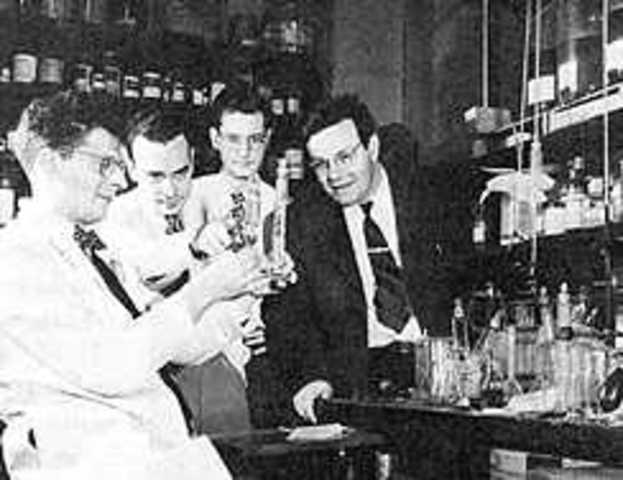 Jacob A. Marinsky, Lawrence E. Glendenin y Charles D. Coryell