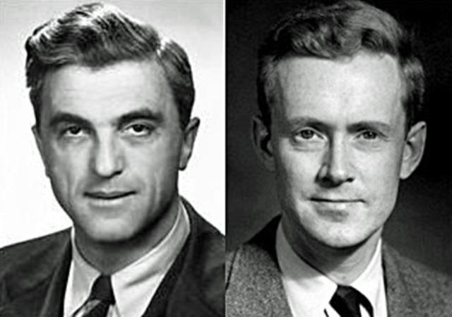 Felix Bloch y Edward Mills Purcell