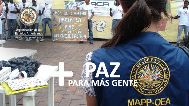 Misiones de Apoyo a Procesos de Paz y Consolidación Democrática OEA