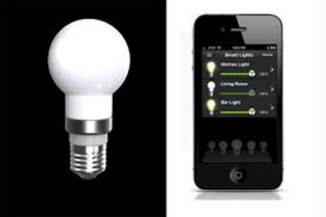 Wireless LED Light Bulbs