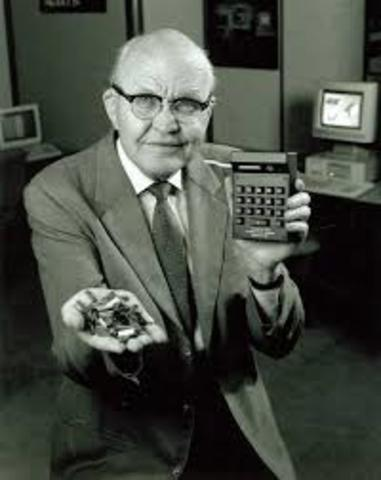 Jack Kilby and Robert Noyce unveil the integrated circuit, known as the computer chip.