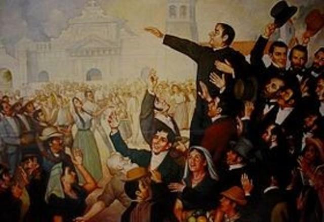 1° ETAPA de 1800 a 1024. En la primera etapa se dio la independencia de El Salvador con España así mismo la evolución de la constitución desde el periodo de 1824.