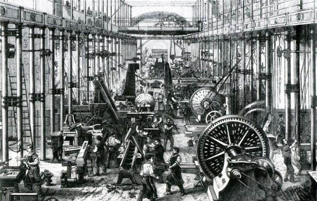 2° ETAPA de 1830 a 1858. Se llevo a cabo la revolución industrial inglesa con alto impacto a nivel mundial.