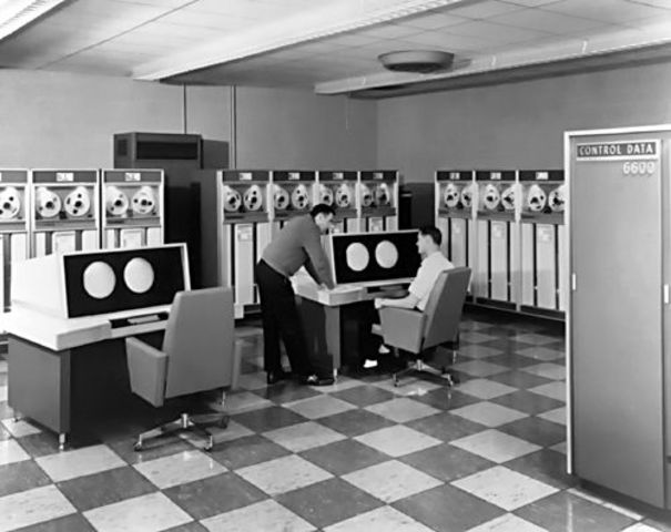 CDC 66oo supercomputer introduced