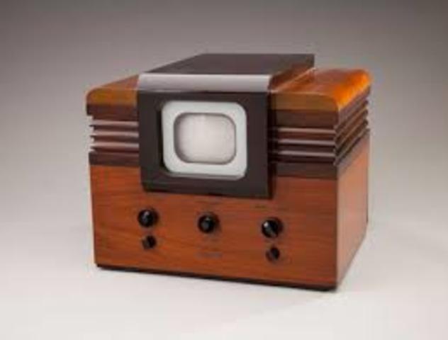 La TV es presentada en la Feria Mundial de Nueva York.