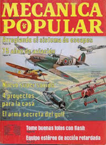 En el número de abril, la revista Mecánica Popular