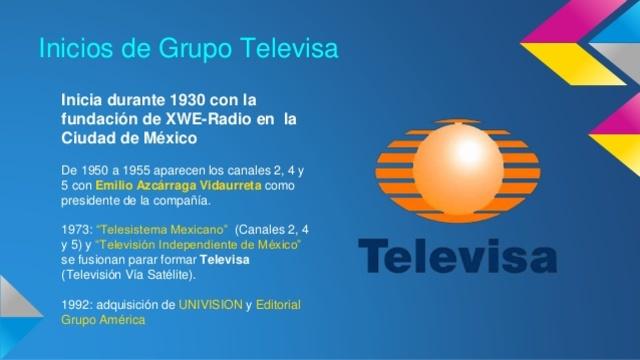 En México, se fusionan los canales 4, 5 y 2