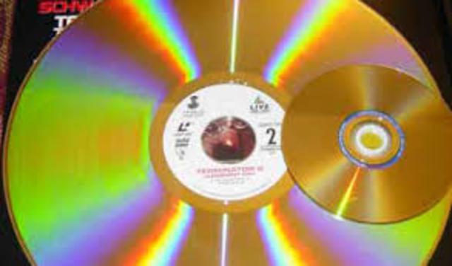 David Paul Gregg inventa el Videodisco