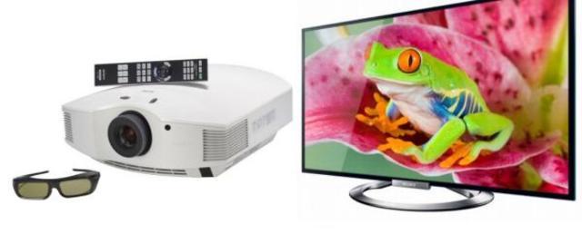 Se ofrece a la venta el primer proyector de TV para pantalla gigante.