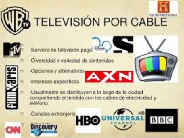 Empieza a operar el primer servicio de televisión por cable en México
