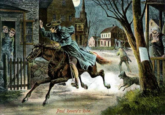 After Paul Revere's Ride