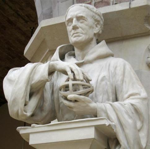 Roger Bacon,Registraba la manera en que conducía sus experimentos (1214-1292)