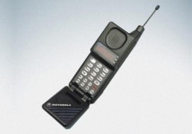 Un Motorola en el coche