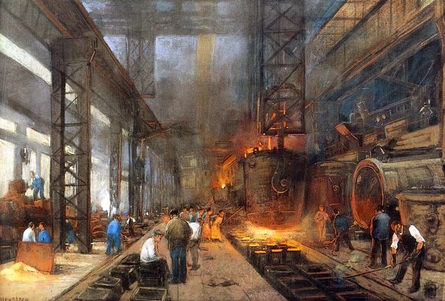 Revolución industrial: Finales del Siglo XIX