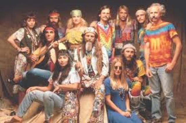 Se declara el fin de los Hippies en EE. UU. y México a comienzos de la década de los años