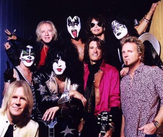 Nace el Hard Rock: Aerosmith,  y Kiss