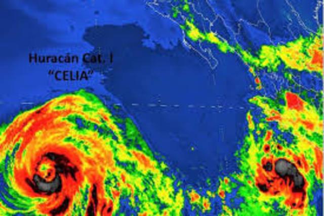 Huracán Celia.