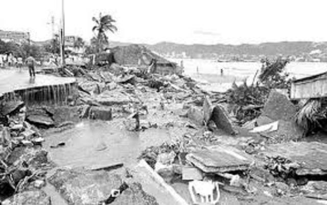 Acapulco, huracán Paulina