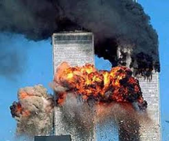Ataque terrorista hacia las Torres Gemelas, EUA