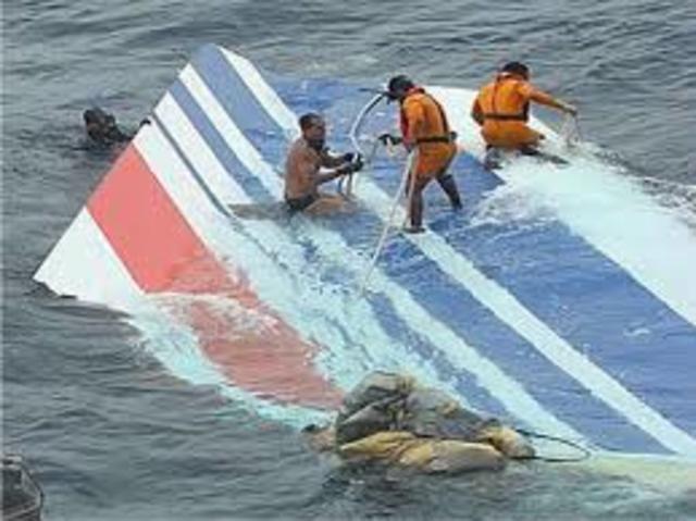 Vuelo de Air France cae al Atlántico
