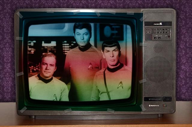 Las primeras imágenes a color 1974
