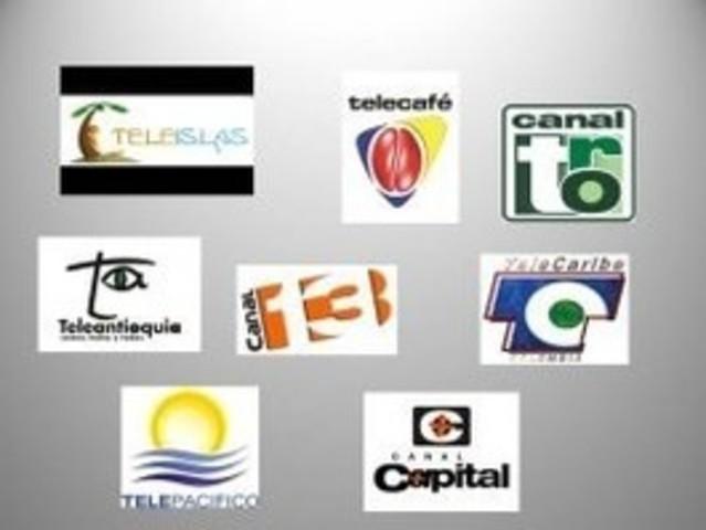 Los canales regionales 1984