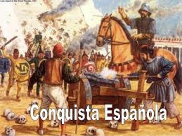 ETAPAS HISTORICAS DE EL SALVADOR:  LA CONQUISTA ESPAÑOLA.