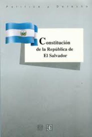ETAPA DE LA EVOLUCIÓN CONSTITUCIONAL DE EL SALVADOR