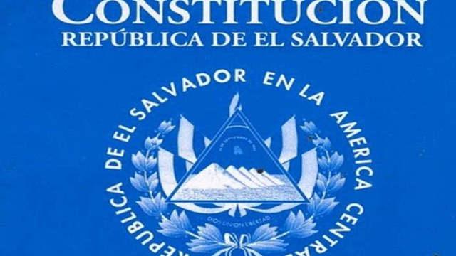 ETAPA DE EL SALVADOR EVOLUCIÓN CONSTITUCIONAL