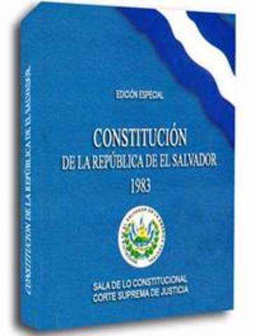 ETAPA DE EL SALVADOR, EVOLUCIÓN CONSTITUCIONAL