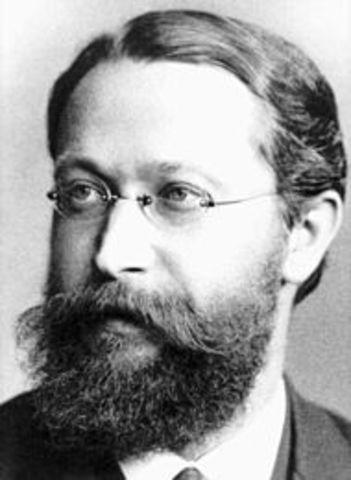 Karl Ferdinand Braun construye el primer tubo catódico.