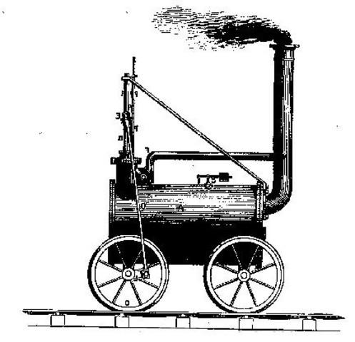Primera locomotora