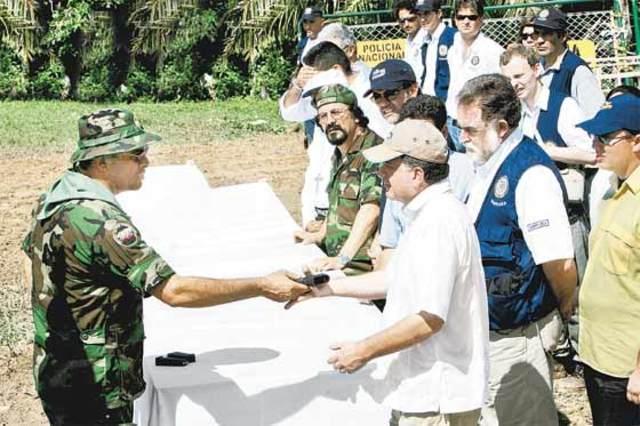 Salvatore Mancuso se desmovilizó como jefe del bloque Catatumbo