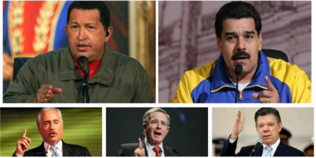 Tensión diplomática entre los gobiernos de Colombia y Venezuela.