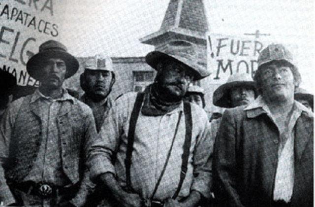 Huelga de obreros en Cananea Sonora - Cuna de la Revolución