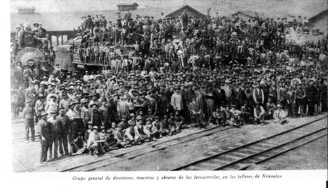 La gran Huelga de trabajadores ferrocarrileros
