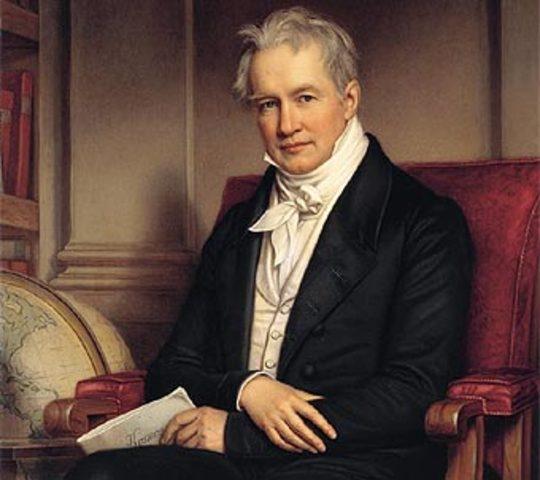 Born of Alexander von Humboldt