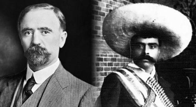 Franciso Madero I y Emiliano Zapata