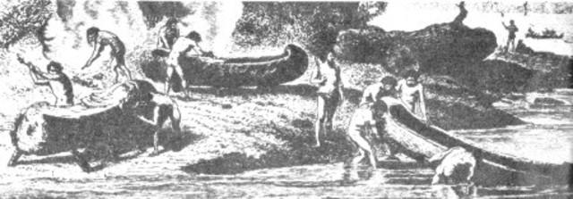 Uso de canoas