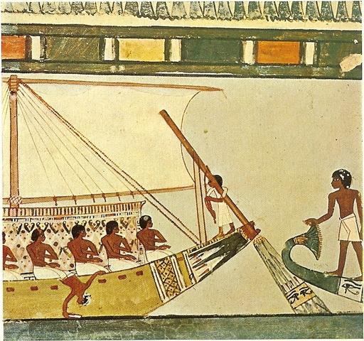Comercio en el Nilo