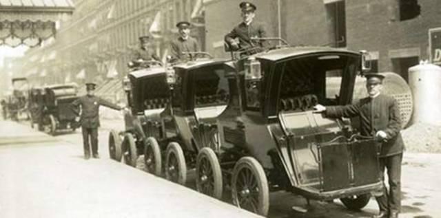 Primeros taxis