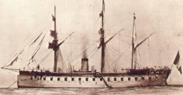 Primer buque acorazado