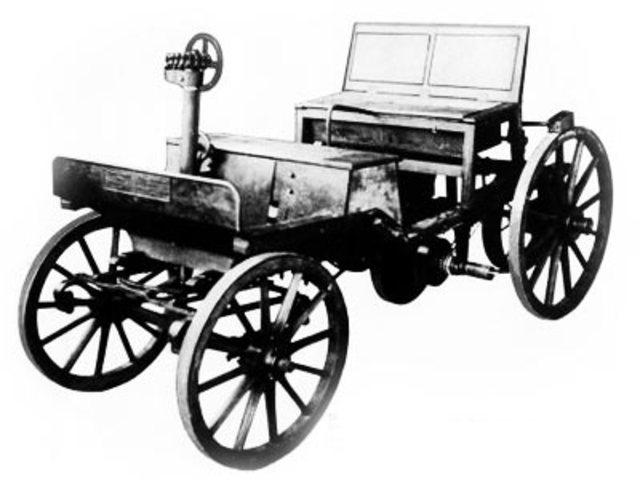 Primer coche de Marcus
