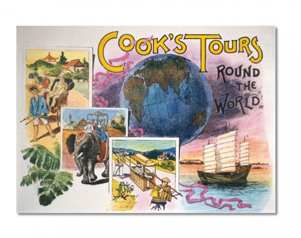 Primera vuelta al mundo en viaje turístico