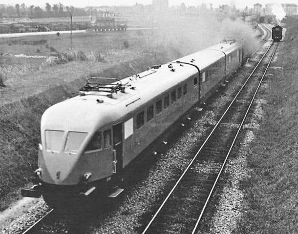 Primer tren comercial de alta velocidad