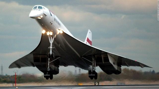 Desaparición del Concorde