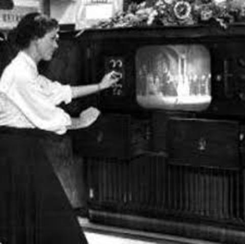 Inicio de la Televisión