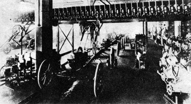 Industrialización del automóvil